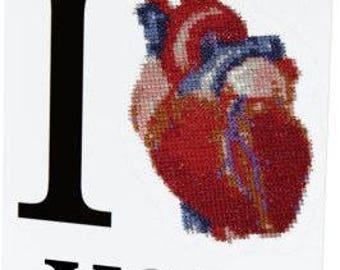 I Heart You Greeting Card