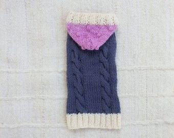 Dog Sweater / 100% Andean Merino wool / Pet Jumper