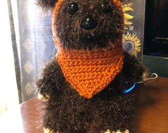 Hand made Ewok from Star Wars