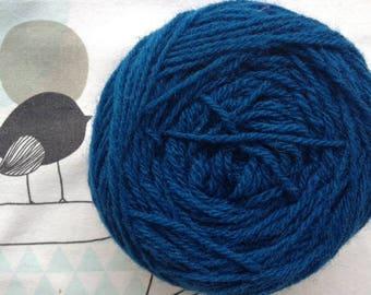 Peacock blue - FLEECES BRETON country wool