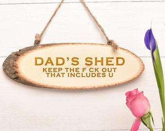 Fathers Day Gift, Wooden Sign, Personalised Gift For Dad..