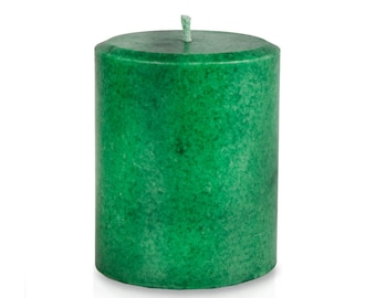 Balsam Fir Candle Pillar for Christmas Holidays