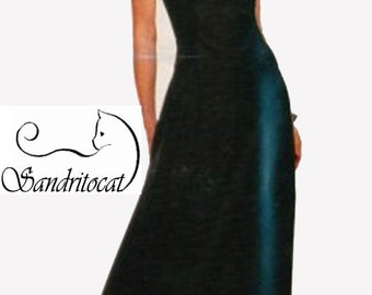 HALTER Dress McCalls Stitch and Save 7039 Easy Fit and Flared Dress Size 8-14 UNCUT
