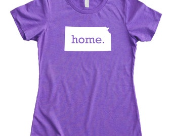 Homeland Tees Kansas Home State Women's T-Shirt