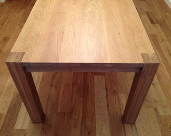 White Oak Parsons Dining Table