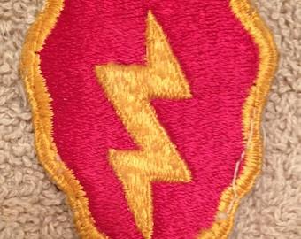 Vintage World War II Uniform Patch