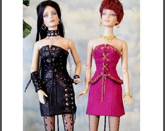 LiZa 16 pattern for Tonner Tyler A Hot ensemble for your coolest doll