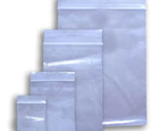 2Mil Reclosable Ziplock Bags FDA and USDA Approved Various Sizes and Quantities