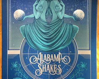 Alabama Shakes - Osheaga Festival  2017 - 18 x 24 Screenprint Poster