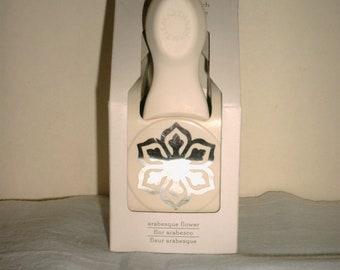 Martha Stewart Crafts ARABESQUE FLOWER Craft Punch - Brand New In the Box