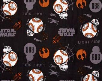 black fabric Star Wars The Last Jedi BB8