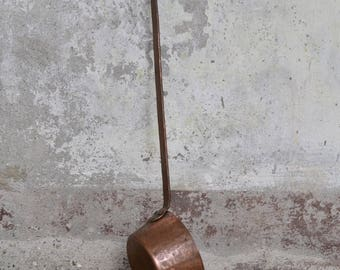 Old copper pot, old copper pan, old italian copper, copper kitchenware, vintage copper kitchenware, vintage copper pan, copper pan