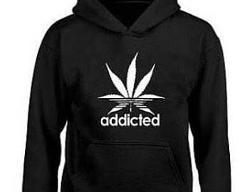 Hoodie Addicted Hoodie Adult Hooded Sweatshirt