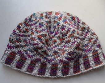 Hat handknit small