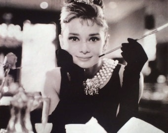 Audrey Hepburn Breakfast At Tiffany's  16 X 20 POSTER