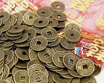 Coin antique Chinese Feng Shui lucky charms D2 lucky Chinese