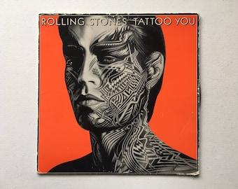 Rolling Stones Tattoo You Vinyl LP First Press 1981