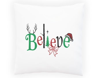 Believe and You can Achieve Pillow Cushion Cover v967p