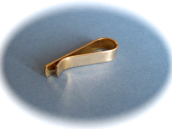 """8 Blanks 1/4"""" x 3"""" Tie Bar Blanks Jeweler's BRASS or COPPER 18 Gauge Tumble Polished or Raw - 8 Blanks - FLAT"""