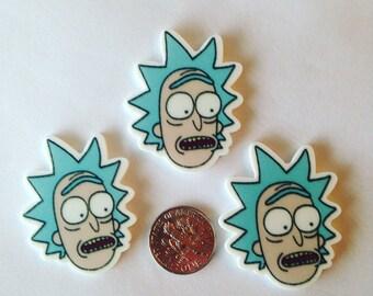 Rick planar resin set of 2