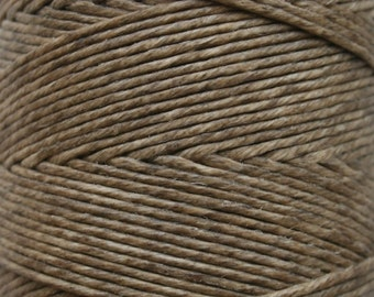 5 Yards of 6 ply Irish Waxed Linen Thread in Natural