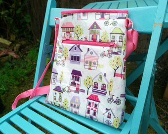 Cross Body Bag Pattern PDF Pattern Digital Sewing Pattern Purse Handbag Shoulder Bags For Women
