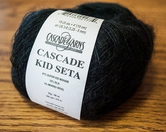Cascade Kid Seta Fine Weight Mohair/Silk/Wool Blend Yarn - DISCONTINUED PRODUCT