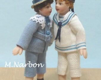 dollhouse's 1/24 porcelain doll, KID