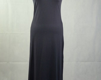 Vintage Black Dress Jeffrey Rogers Tube Dress Wiggle Dress Size Large US 10 UK 14