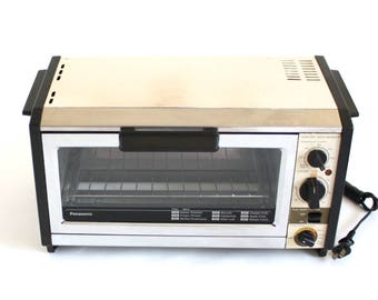 Panasonic Toaster Oven NT-86OU 1980s Kitchen Small Appliance Made in Japan (used)