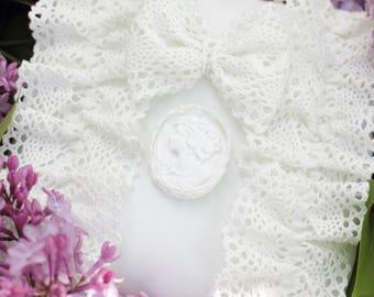 Wedding Ring Pillow, Ring Bearer Pillow, Lace Ring Pillow, Elegant Ring Pillow, Wedding Ring Bearer, Wedding Ring Cushion