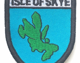 Isle Of Skye Embroidered Patch