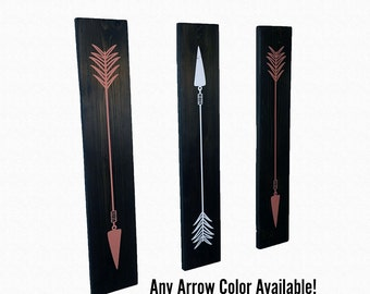 Pallet Wood Arrow Wall Decor | Set of 3