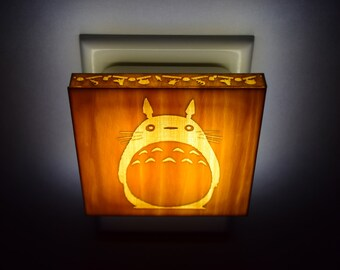 My Neighbor Totoro Miyazaki Hayao studio ghibli - Lantern Night Light for bedroom, nursery, bathroom