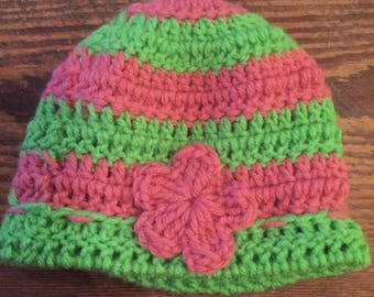 Crochet baby hats - custom colors available!