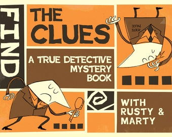 True Detective Activity Book Cover Poster