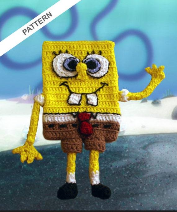 Spongebob Squarepants Cell Phone Case Crochet Pattern