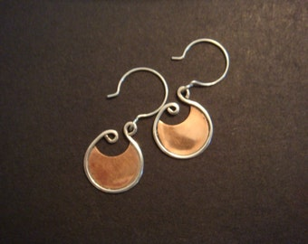 Ancient Disc Earrings