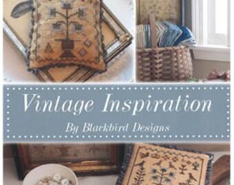 Pattern Booklet: Vintage Inspirations by Blackbird Designs