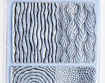 Organic Texture Stamp/Sheet - 'RIVER'