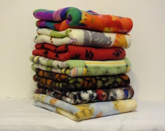 Kitty Mat Beds - Pet Mat Beds 7 Different Fleece Prints