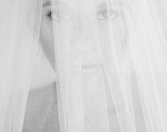 """Handmade Custom Veils:  """"The Courtney"""""""