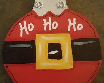 Personalized Ho Ho Ho Ornament