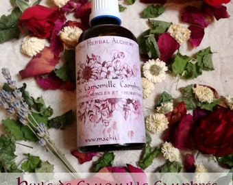 Natural Herbal Alchemy Camphree Chamomile oil