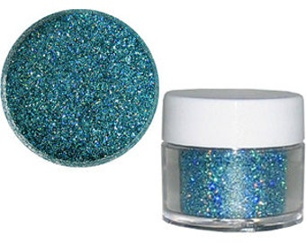 Edible Ocean Blue Glitter/ Edible Glitter/ Cake Glitter/ Edible Cake Shimmer/ Blue Topaz Cake Glitter