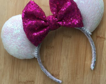 Custom Sequin Ears - choose your own color combo