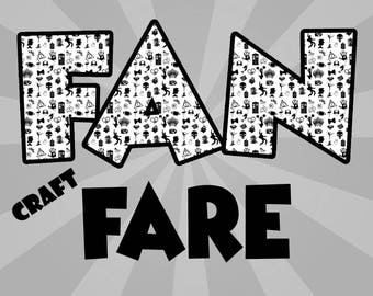 FanFare Craft Fair Custom 3-4 in. Listing (In person sales only)