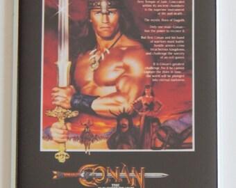 Conan the Destroyer Movie Poster Fridge Magnet