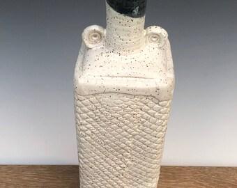 Ceramic Vase - Square Bottle Form