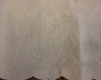 A vintage tea towel